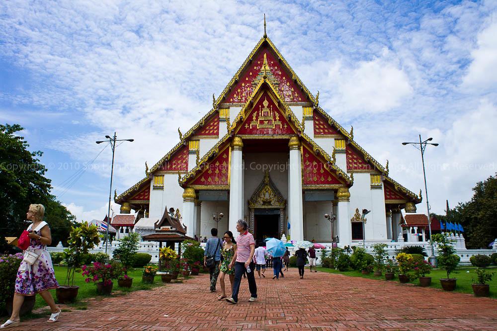 Wat Phra Mongkolbhopit @ Ayutthaya Thailand