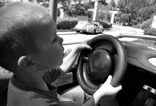 Focused on driving