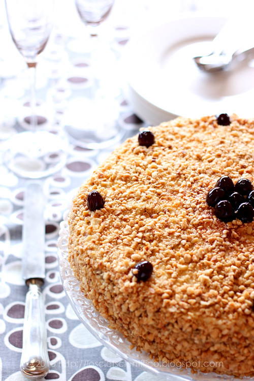 Sour Black Cherry Cake