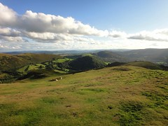 Looking to the south from Caer Caradoc Photo
