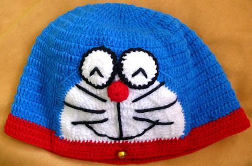 כובע דוראמון בסריגת יד, צ'יאנג ראי