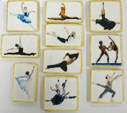[Image from Flickr]:Indianapolis Ballet Dancing w/ the Stars cookies