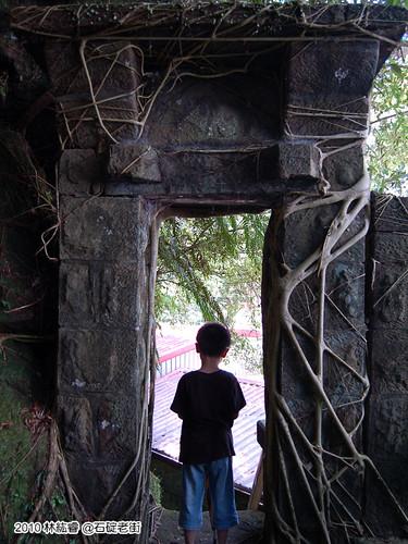 百年石頭厝的後花園