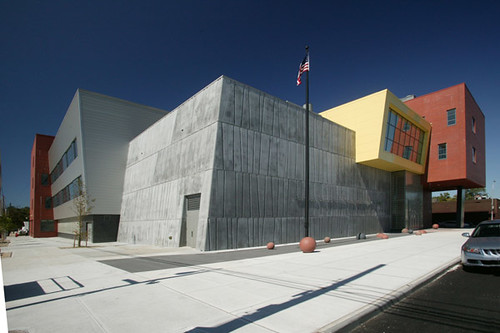 Architecture And Interior Design School Form Of The Facade On The