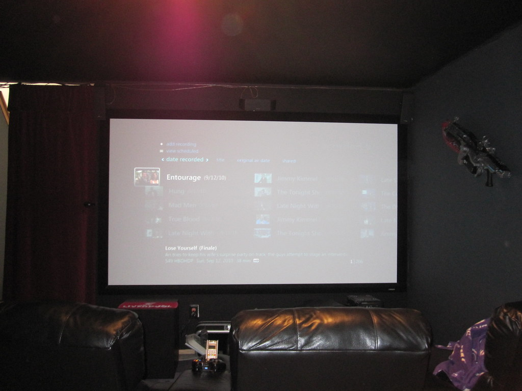 Extender 7MC Theatre Room Screen