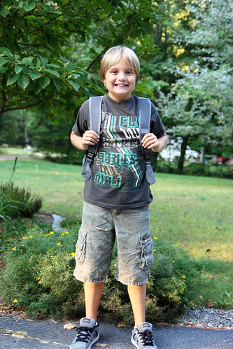 First day of 5th grade.
