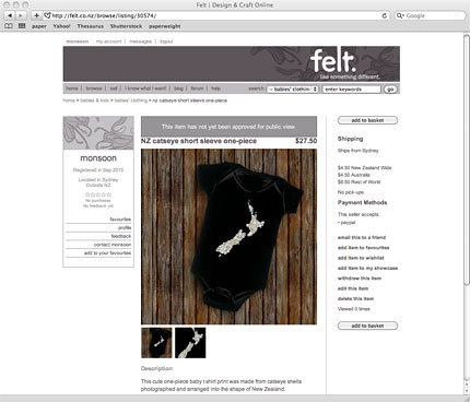 we're now on felt