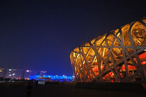 北京2010 - 鳥巢, 水立方 (14)