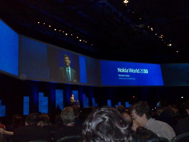 Vittio Colao at Nokia World 2010