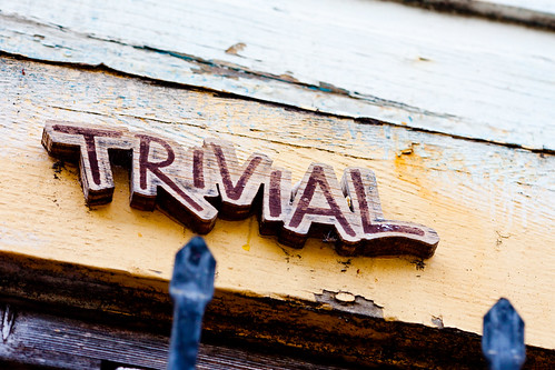 Trivial by Thomas Hawk, on Flickr