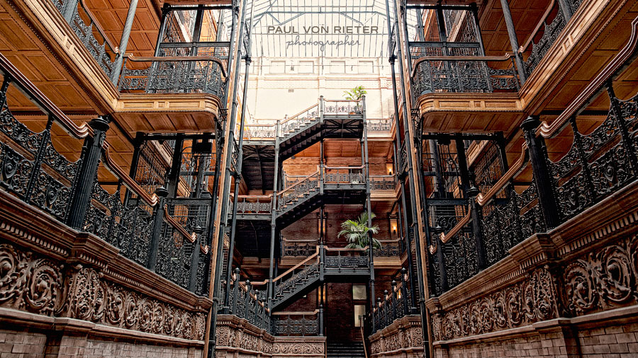 Ashley-and-John-Engagement-photos-at-the-Bradbury-Building--0002