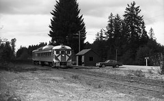CP Rail DAYLINER No. 9199 on Vancouver Island. (R R Horne) Tags: railroad bc vancouverisland cp cpr cprail fav10 dayliner railroadscprail