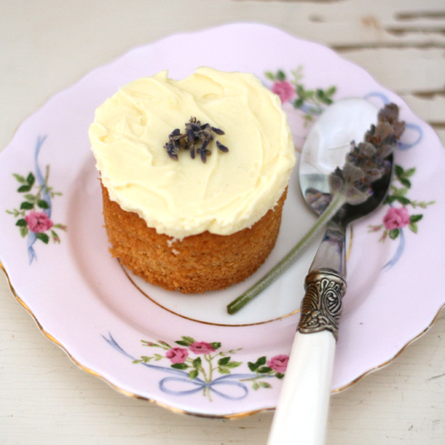 honey lavender cupcakes