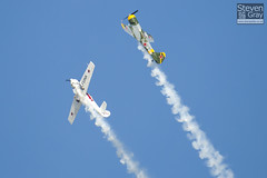 Aerostars Team - Yakovlev Yak-50 - Duxford - 100905 - Steven Gray - IMG_8005