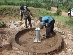 Eshikhoni pri.school-re-construction of well pad.