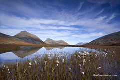 Tromvik (antonyspencer) Tags: autumn mountains norway reflections circle landscape arctic tromso troms tromvik