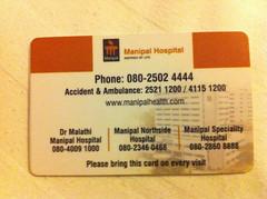Manipal Card