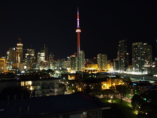 View from Thompson Lounge