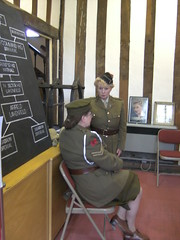 11th & 12th Sep 2010Gainsborough 019 (I Poper) Tags: blackandwhite museum female army seaside women wwii 1940s ww2 ann uniforms afmc oldphotos reenactors wartime ats womeninuniform warweekend servicedress 11th12thsepgainsborough