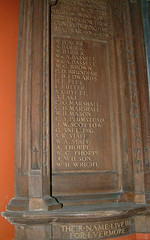 St Saviour - The Great War Roll of Honour
