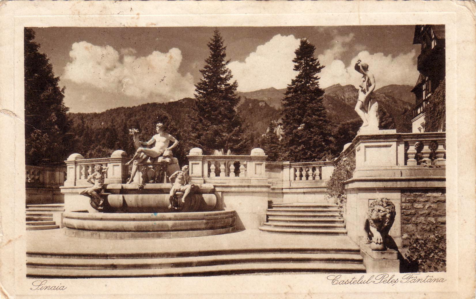 castelul peles sinaia 1941