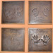 Disney Legend Handprints: Orlando Ferrante, Buzz Price, Leonard Goldenson and Tim Conway