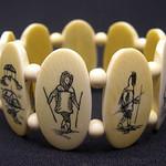 """<b>Bracelet</b><br/> Unknown, Eskimo American (ivory, ca. 1970) LFAC#2008:01:37<a href=""""http://farm5.static.flickr.com/4148/4996993094_34598c99f5_o.jpg"""" title=""""High res"""">∝</a>"""