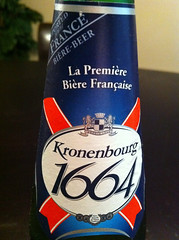 Kronenbourg 1664 Label
