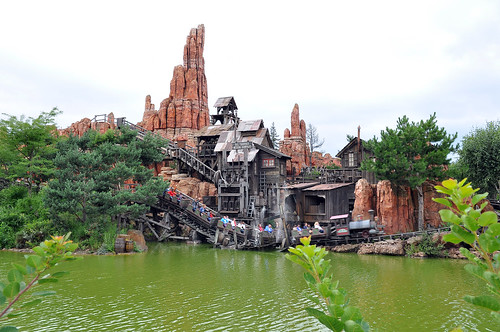 Big Thunder Mountain Railroad - Disneyland