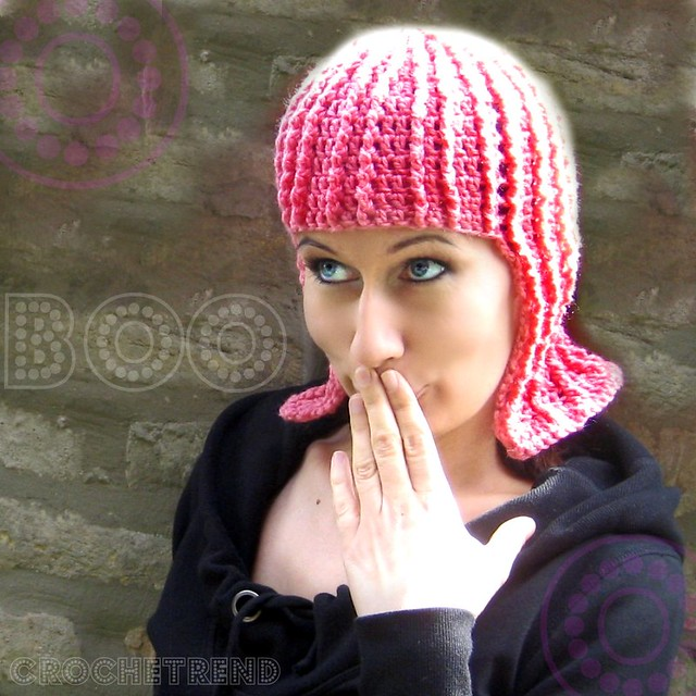 Crochet or Knit a Pink Wig for Halloween!