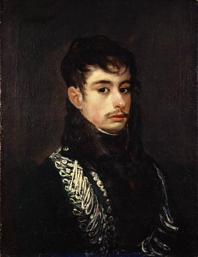 An Officer (Conde de Teba), Francisco de Goya y Lucientes  (1746 - 1828), c.1804 (?)