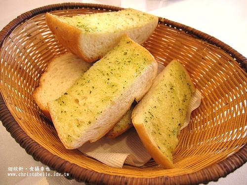 Su蔬食料理麵包