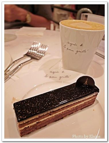 杏仁咖啡巧克力蛋糕2