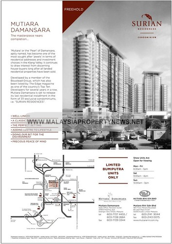 Surian Residences, Mutiara Damansara Condominium for sale
