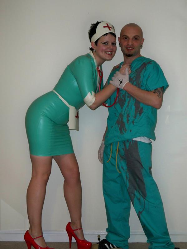 Fetish medical naughty nurse