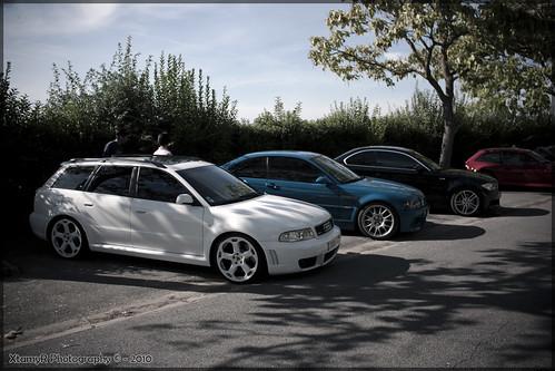 Audi Rs4 B5. Audi RS4 B5, BMW M3 e46