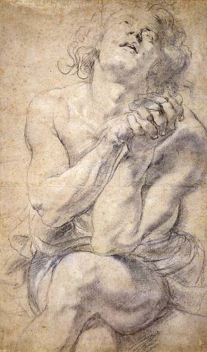 Seated Nude Youth, Peter Paul Rubens