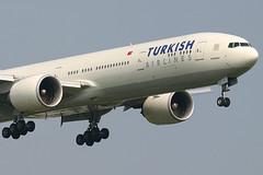 Turkish Airlines - TC-JJB (Andrew_Simpson) Tags: turkey heathrow landing boeing 777 turkish lhr heathrowairport marmara staralliance egll triple7 777300 turkishairlines 777300er tcjjb