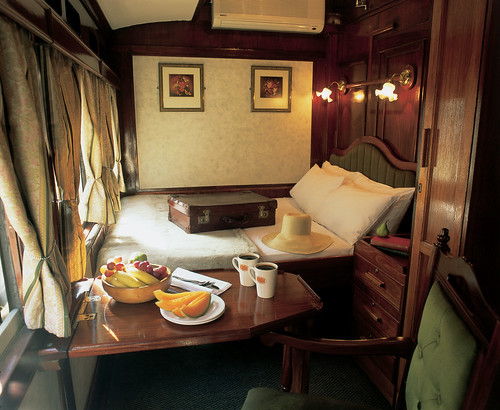 The Shongololo Express - Emerald class cabin (Southern Africa)
