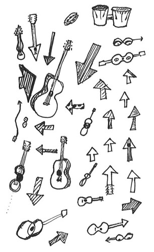 guitars-and-arrows