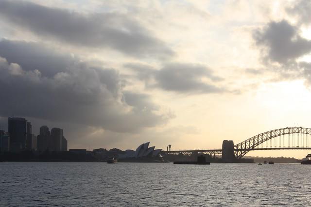 Overcast...Sydney Opera