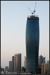 United Tower-- 22nd, September, 2010 (Thamerium) Tags: skyscraper kuwait modernarchitecture kuwaitcity arabiangulf sharq unitedtower