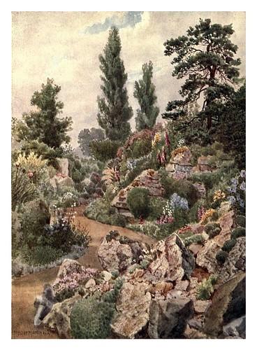 002-El jardin de rocas-Kew gardens 1908- Martin T. Mower