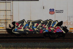 Kerse is Building America (All Seeing) Tags: up shark gas dna unionpacific reefer amfm sharky lushy uprr armn kerse reefers kmv buildingamerica esrek esrekie crurse