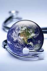 Globe and stethoscope concept (Gordon Saunders) Tags: blue usa black color green vertical closeup photography globe earth nobody health sphere planet copyspace care worldmap healthcare stethoscope concepts medicalequipment medicalinstrument worldhealth globalbusiness differentialfocus healthcareandmedicine
