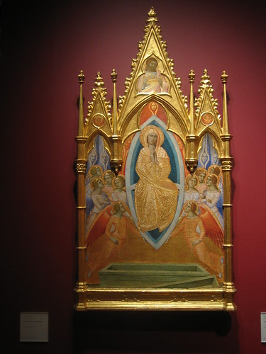 The Assumption of the  Virgin, 1362, Luca di Tommè _7700