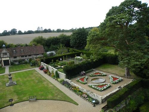 ogrody przy Ightham Mote