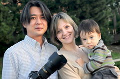 A Modern Japanese Family (Saitama-Rama) Tags: family japan children tokyo asia families international odaiba cameramen internationalization nikond300s