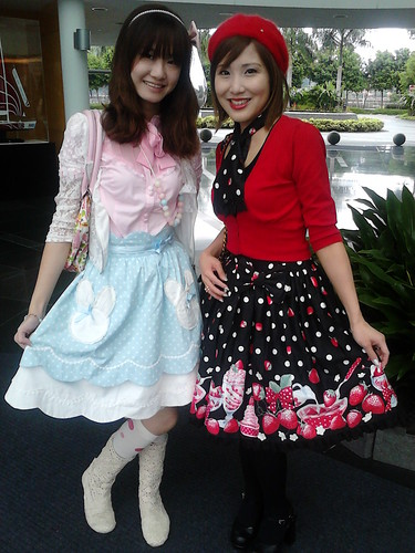 Steph and I in Angelic Pretty!