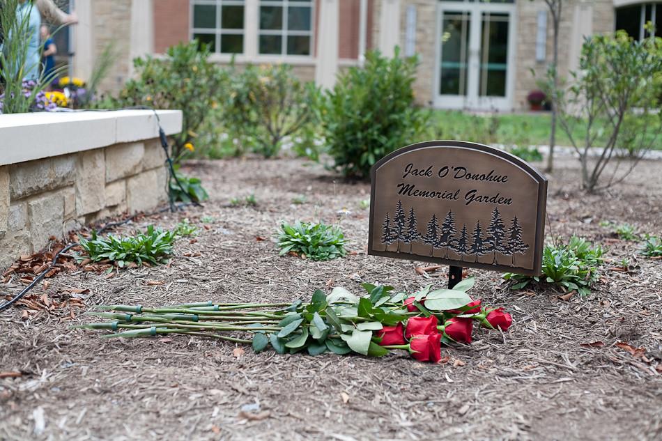NVAR Jack O'Donohue Memorial Garden